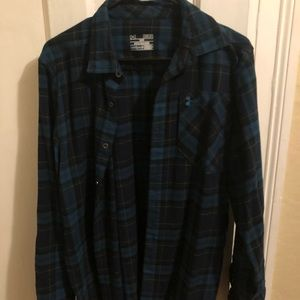 Under armor cold gear flannel